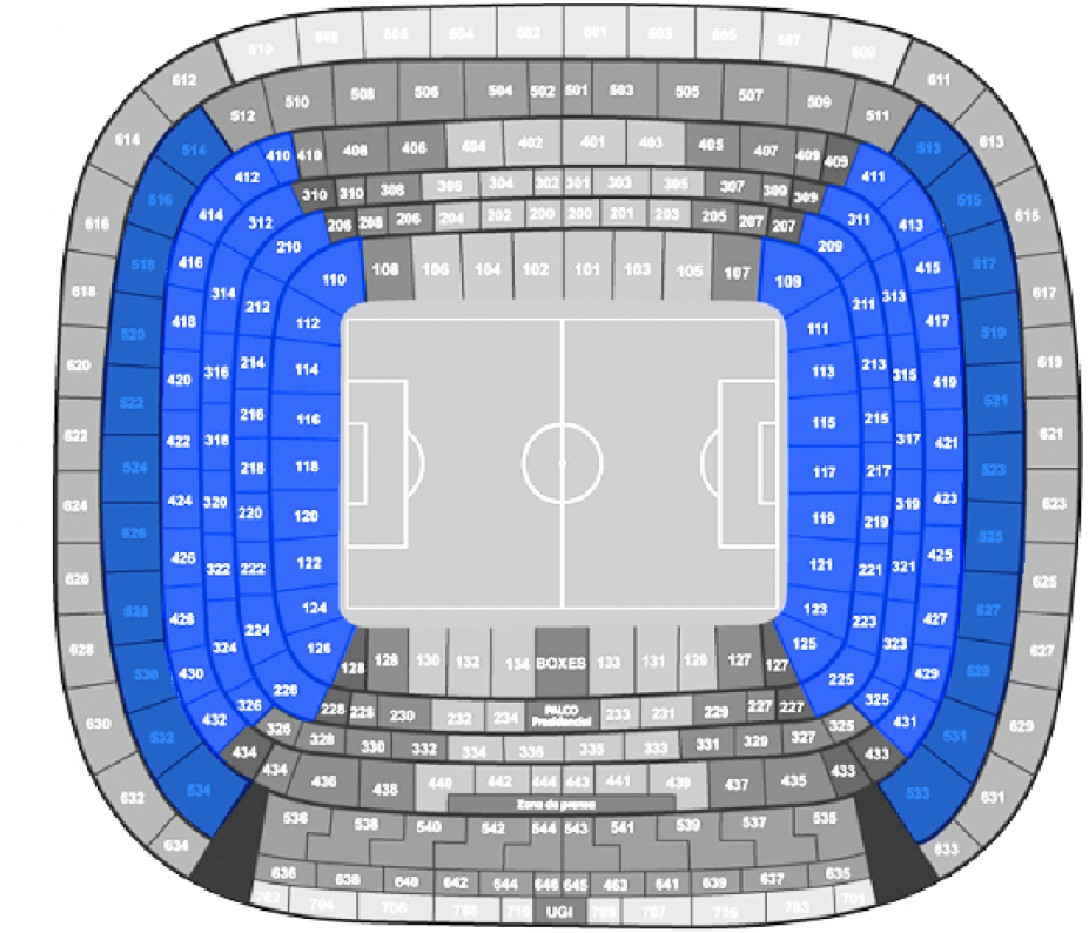 Real Madrid - Eibar - Football. - Shortside Lower Tiers