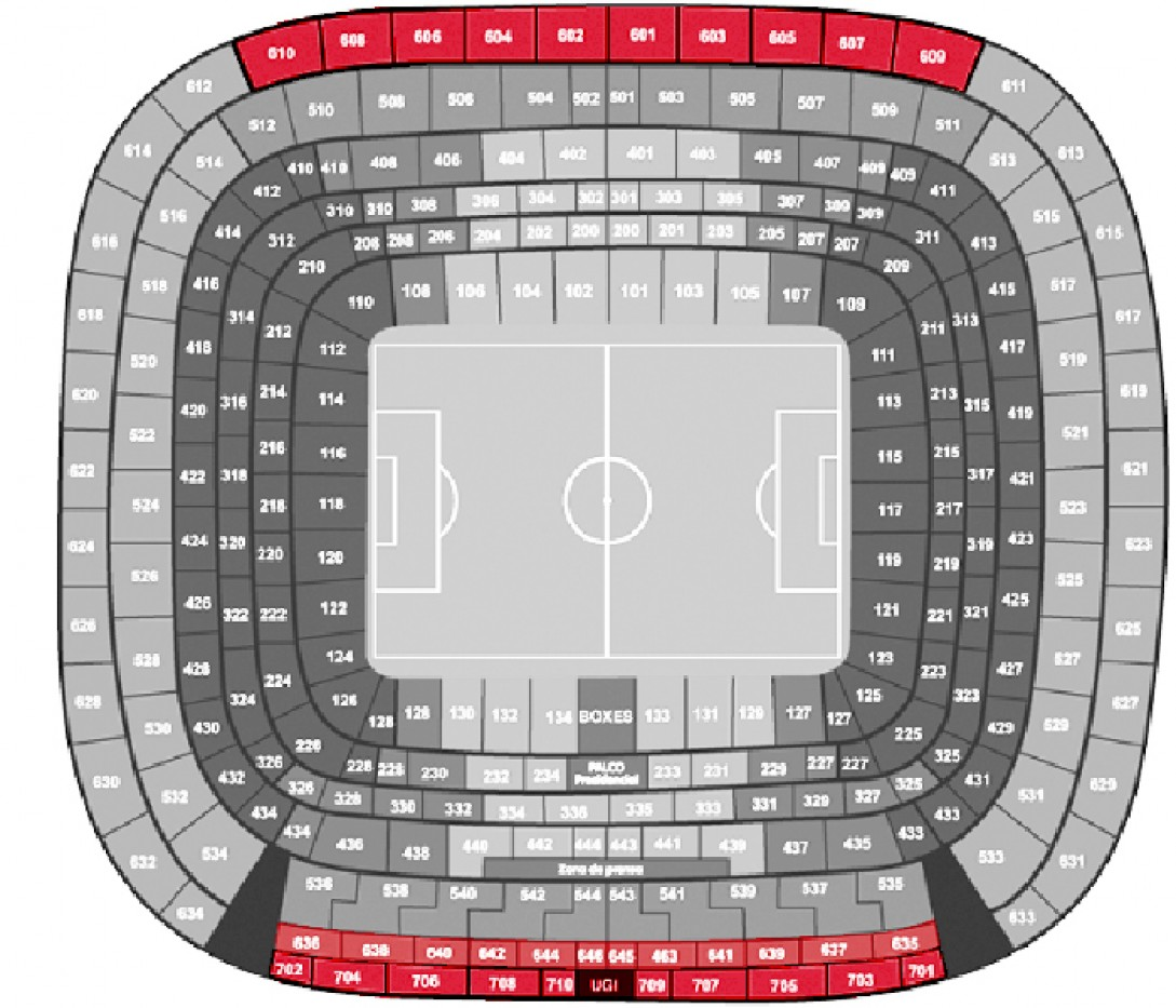 Real Madrid - Eibar - Football. - Longside 4th Tier (level 600/700)