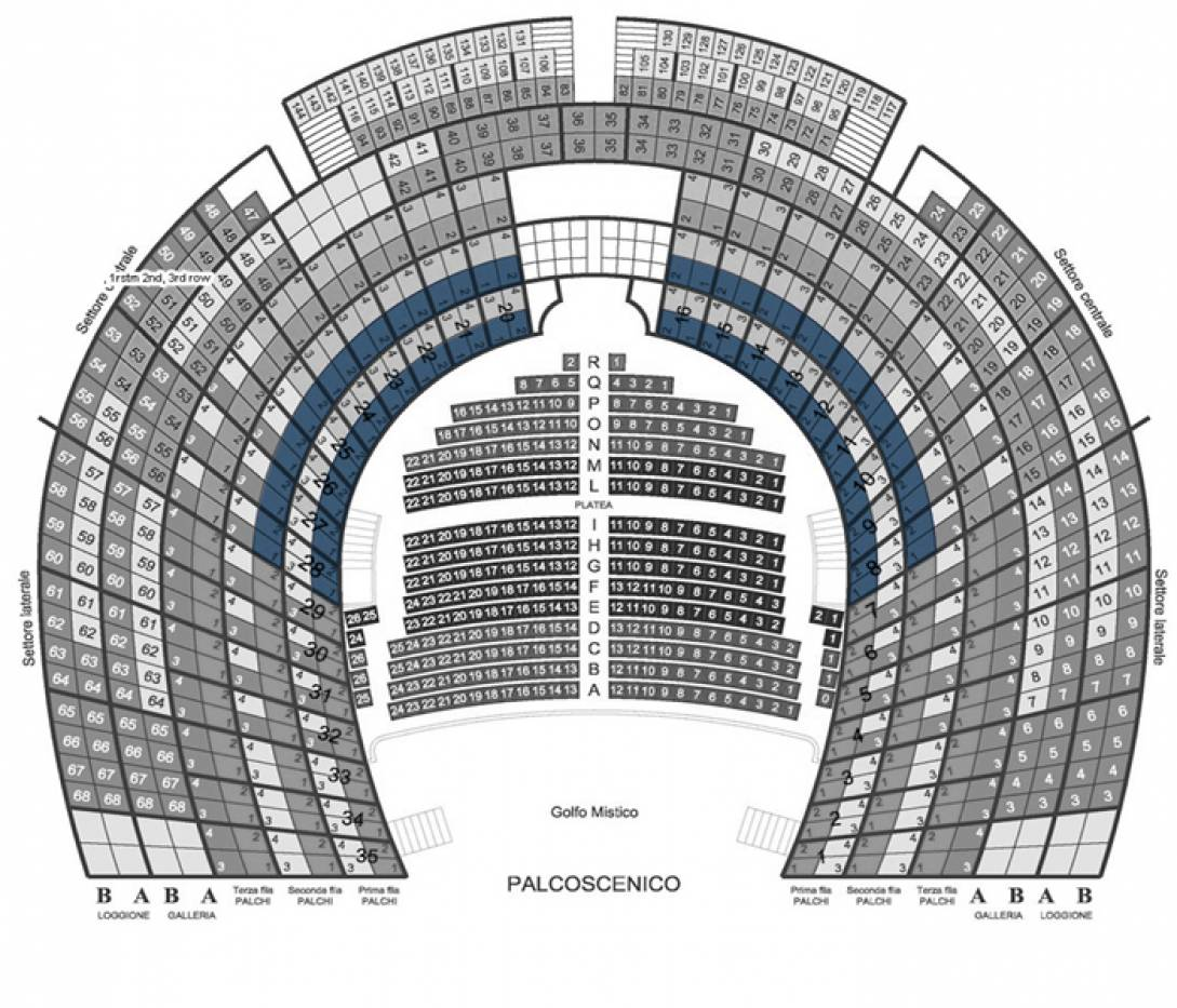 Il Barbiere di Siviglia - Venice, 3 Oct 2020 - Central box - 1st and 2nd row - Front seats