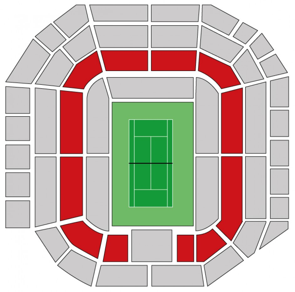 Wimbledon - Men's Final - Debenture seats